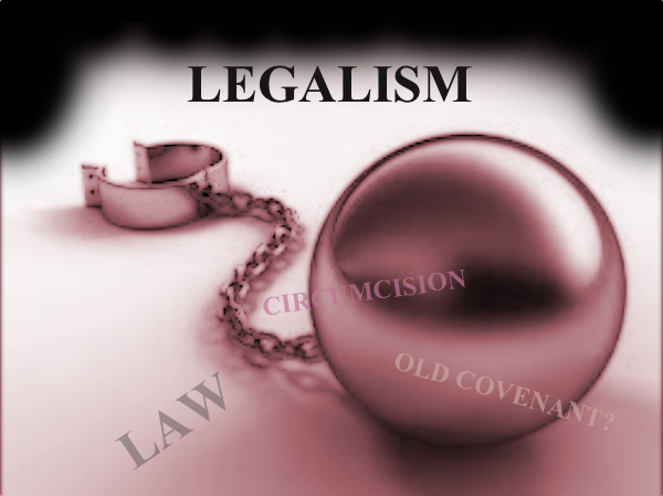 Legalism In The Bible